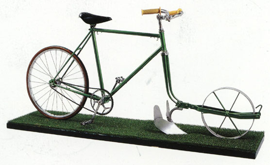 Bicicleta Arado de Jacques Carelman