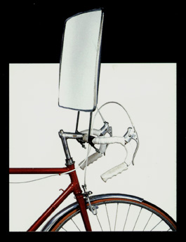 Bicicleta con Espejo de Jacques Carelman