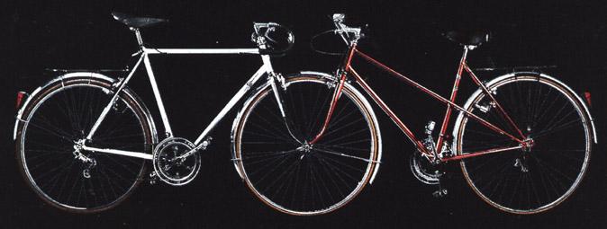 Bicicleta Convergente de Jacques Carelman