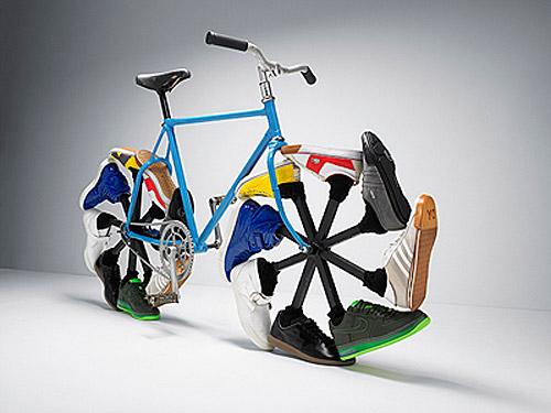 Bicicleta Caminante de Max Knight