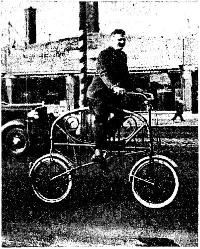 Bicicelta cama en Chicago, 1930 | Autoría: Garden Lark