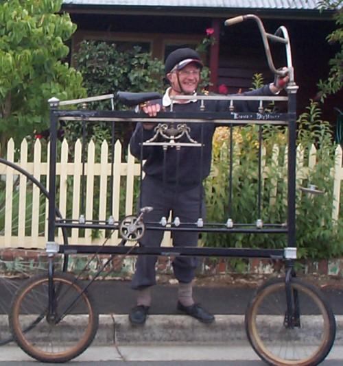 Bicicleta cama en Tasmania | Autoría: Garden Lark