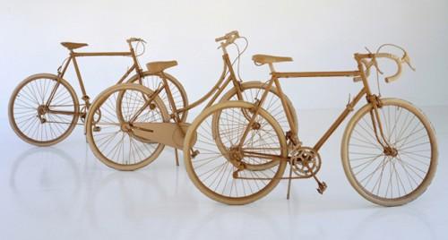 Bicicletas de cartón de Chris Gilmour