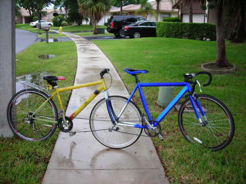 Construir un tándem sin soldar dos bicicletas!