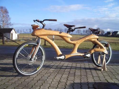 Renovatia, la bicicleta tandem de Madera