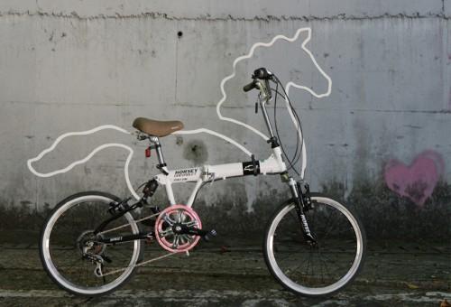 Bicicleta caballo de Eungi Kim